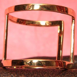 Vince Camuto  Gold Tone Cuff Bracelet